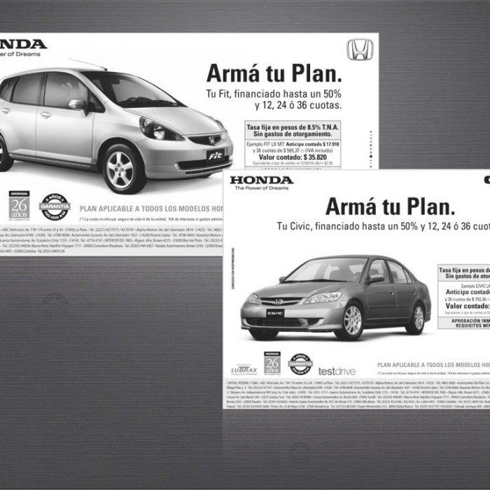 Honda Avisos