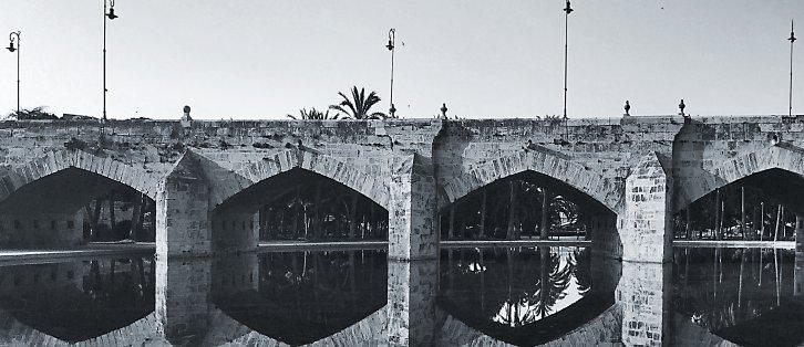 Turia Reflections I | Turia Roman Bridge