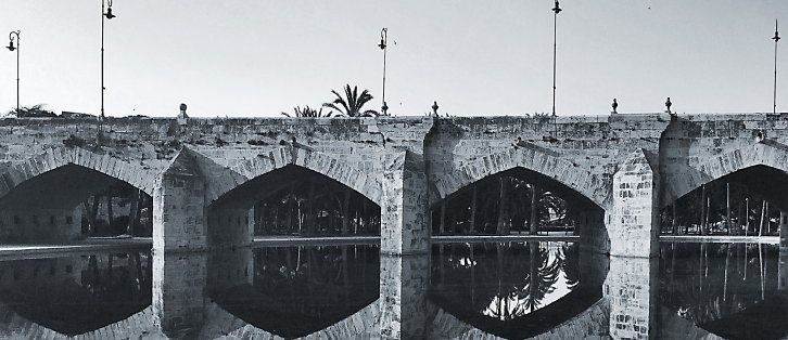 Turia Reflections I | Turia Roman Bridge