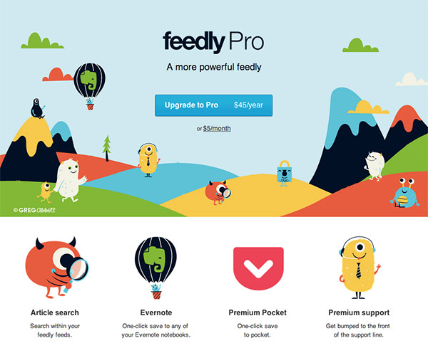 Feedly Pro Signup