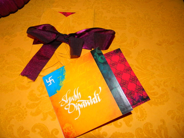 HAND - CRAFTED DESIGNER DIWALI GREETING CARDS by NOOR ARTS