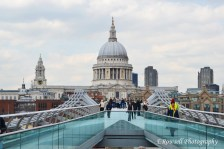 The Millennium Bridge (as seen in Harry Potter, being the sole reason I went to see it)