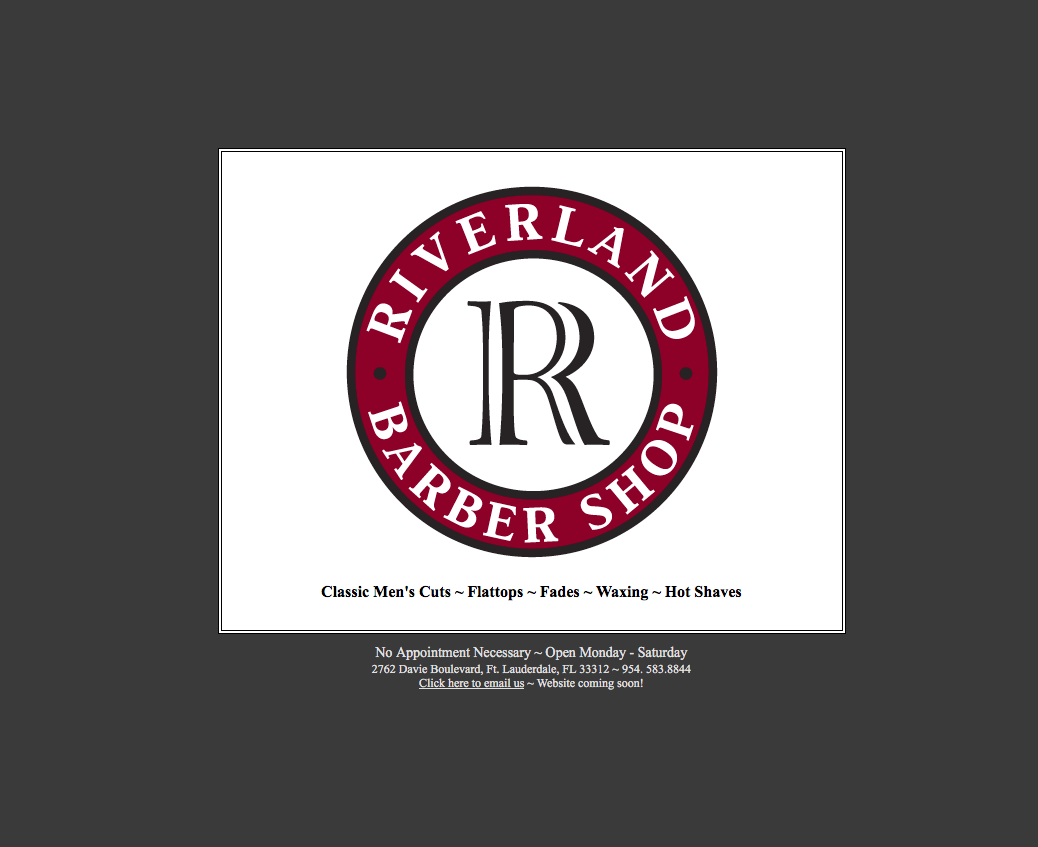 Riverland Barber Shop