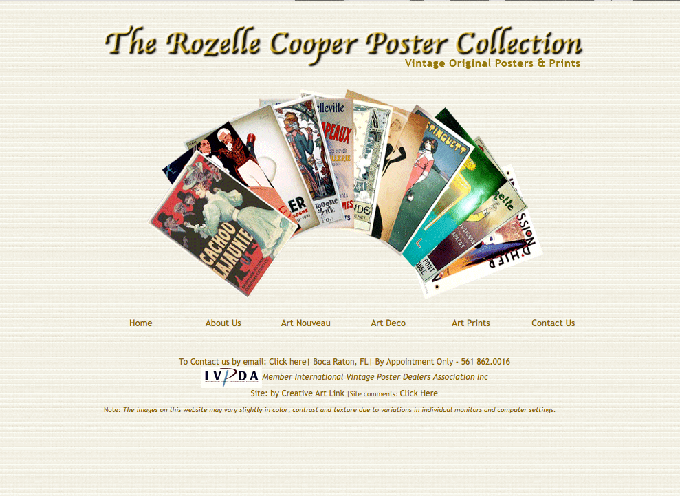 Rozelle Cooper Poster Collection