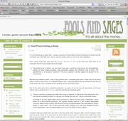 Fools & Sages v1