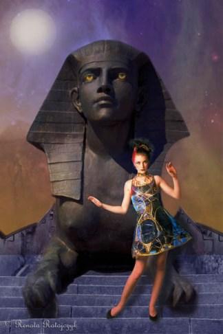 Egyptian Travels - 1 - creative fantasy fashion, digitally enhanced photography