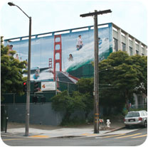 Mural at 1601 Turk Street in San Francisco's Western Addition