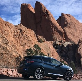 Into the Garden with the Nissan Murano