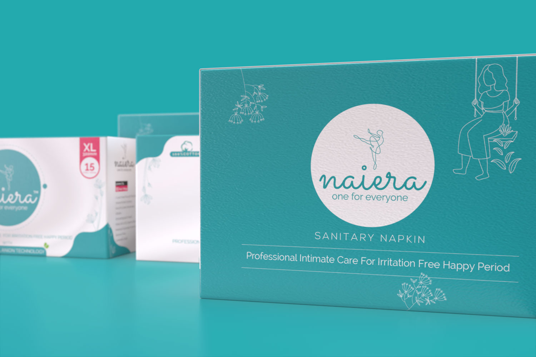 Naiera Packaging Design by Creative Banda