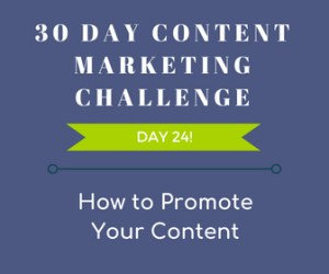How to Promote Your Content