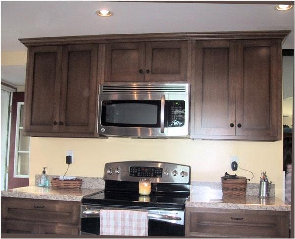 Custom Birch Kitchen Cabinets