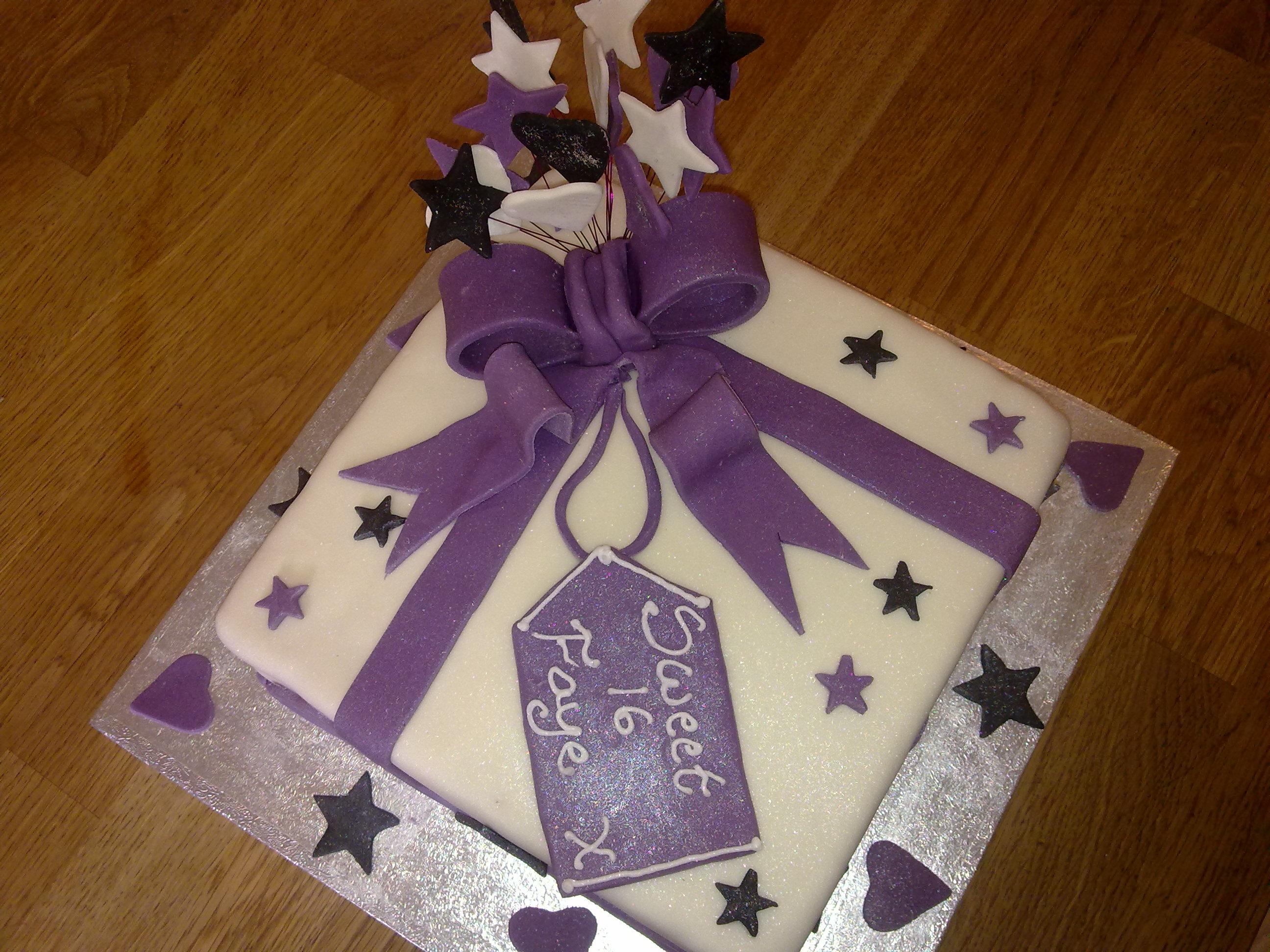 16th Birthday Cake Ideas For Girls