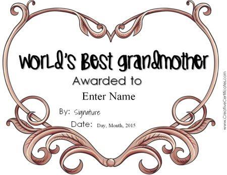 worlds best gramdmother