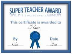 super teacher