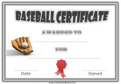 baseball award with a picture of a baseball glove and ball