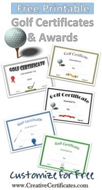 Gold Certificates and Awards