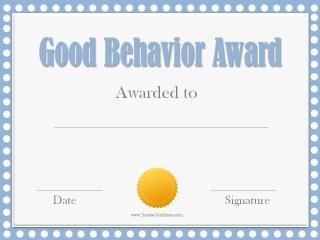 award certificate for kids