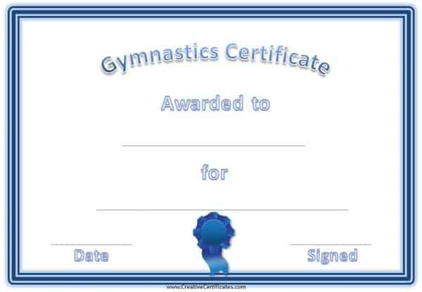 award certificates with a fun non-formal look