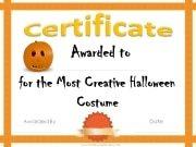 Most creative Halloween costume award