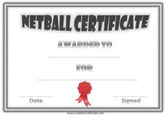 semi formal netball award