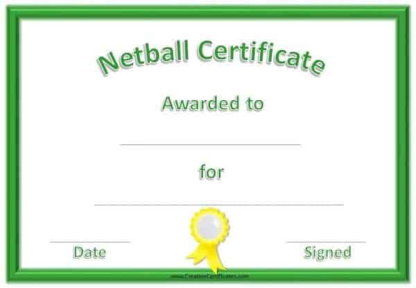 Sports Award in green and yellow