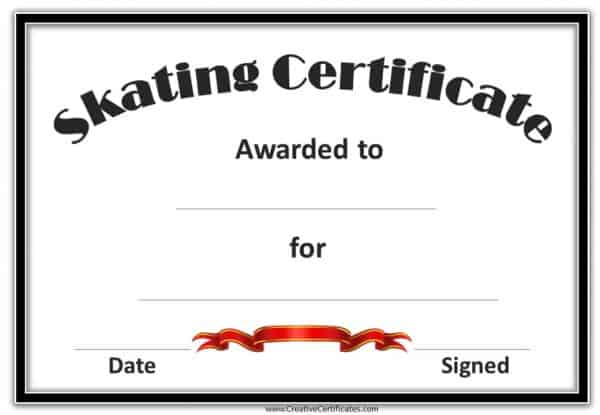 Skating Awards
