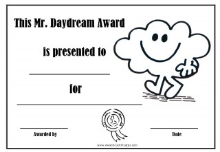 Daydreamer award