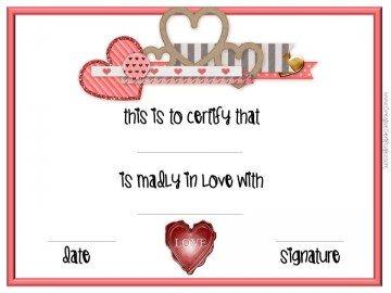 Be my valentine printable