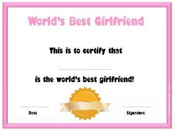World's Best Girlfriend