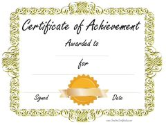 gold border with gold ribbon