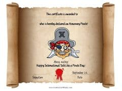 International talk like a pirate award