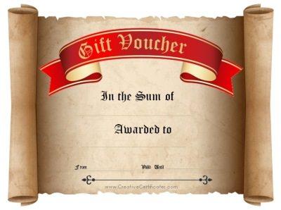 gold class gift voucher