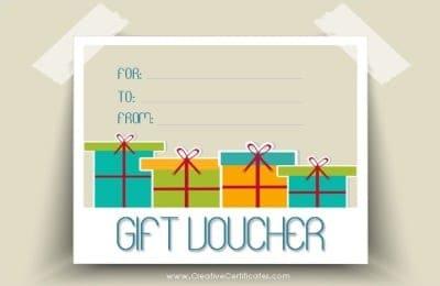 free printable gift voucher