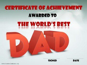 The world's best dad