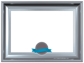 Free Printable And Editable Certificate Border Instant Download