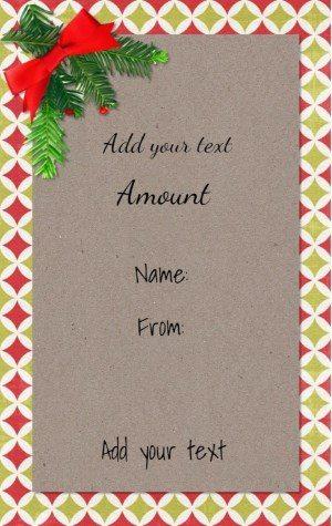 Free Christmas printable with holly
