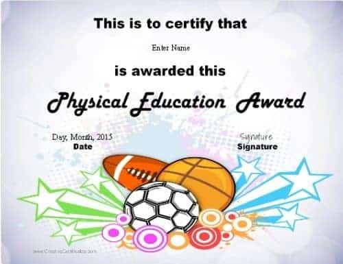 pe teacher certification
