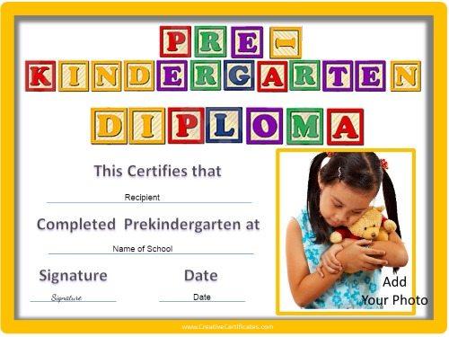 Prekindergarten graduation