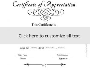 template to create a generic certificate in black and white