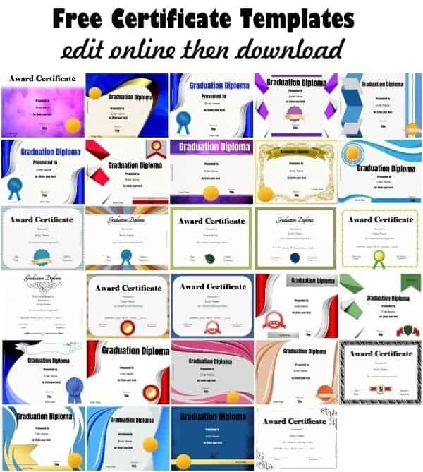 It's just a picture of Printable Diploma Templates intended for background