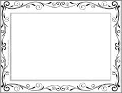 page border with pattern