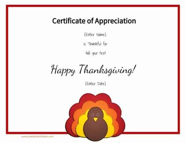 Free printable with Thanksgiving clip art