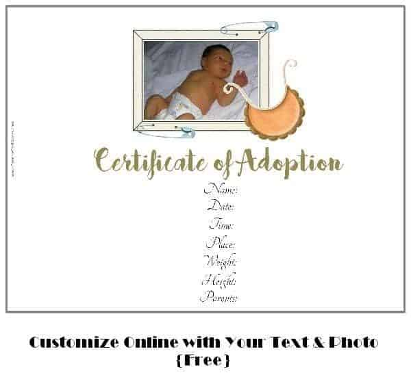 adoption announcements