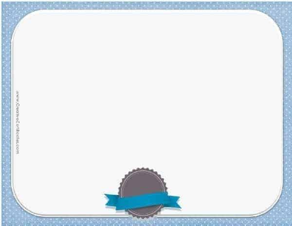 blue blank award