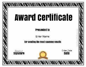 funny award ideas