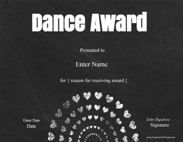 chalkboard performance award
