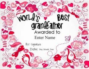 Worlds best grandfather