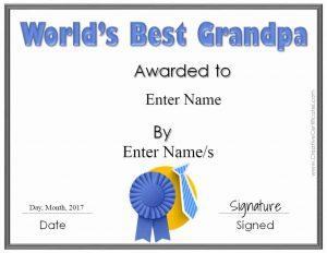 Grandpa printable
