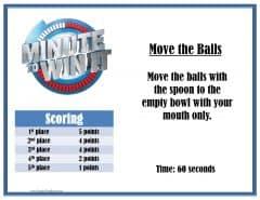 Move the balls