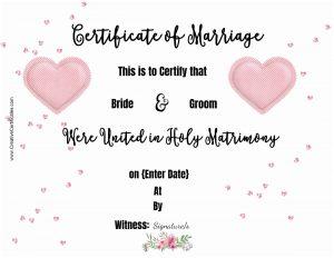 marriage printable